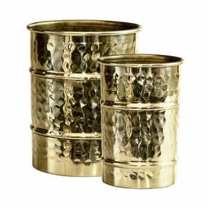 Zestaw 2 wazonów w kolorze złota Green Gate Metal