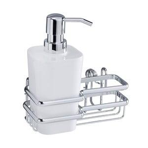 Uchwyt ścienny na akcesoria do mycia naczyń Wenko Wash Up Style