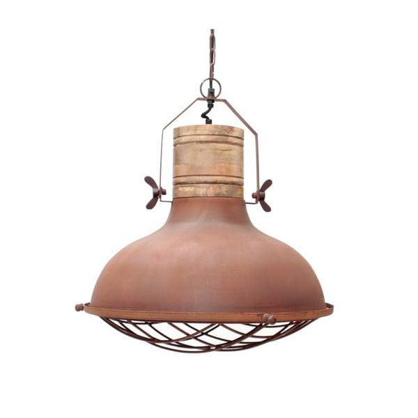 Metalowa lampa sufitowa LABEL51 Grid, ⌀52cm