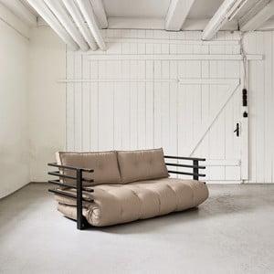 Sofa rozkładana dwuosobowa Karup Funk Black/Vision