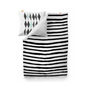 Poszwa na kołdrę Blanc Stripes, 140x200 cm