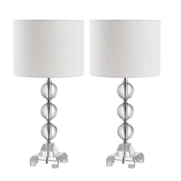 Zestaw 2 lamp stołowych Safavieh Callie