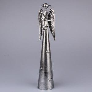 Srebrny anioł z trąbką Dakls