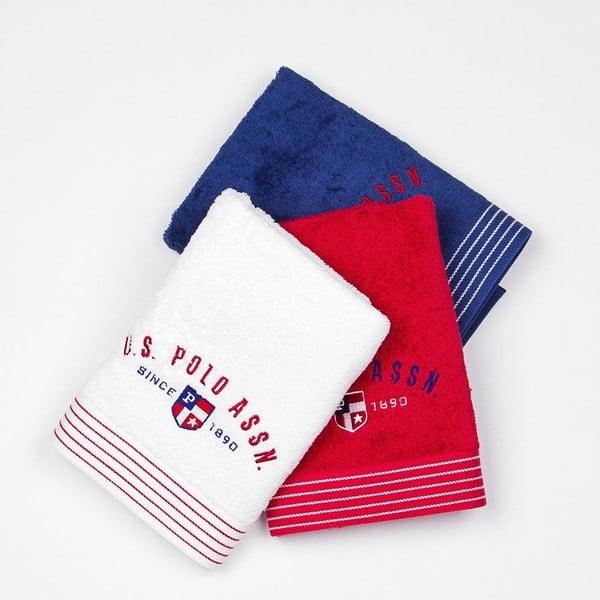 Komplet 3 ręczników US Polo Oackland, 50x100 cm