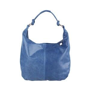 Niebieska torebka skórzana Chicca Borse Giorgia