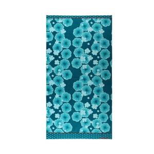 Ręcznik Blue Floral, 75x150 cm