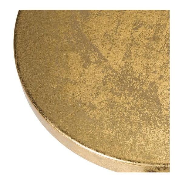 Stołek Counterstool, czarno-złoty