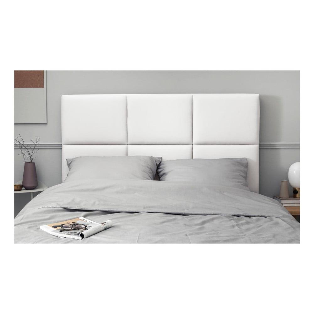 Biały Tapicerowany Zagłówek łóżka The Classic Living Aude 200x120 Cm Bonami