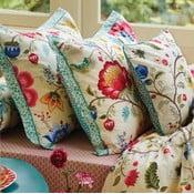 Beżowa poszewka na poduszkę Pip Studio Floral Fantasy, 60x70 cm