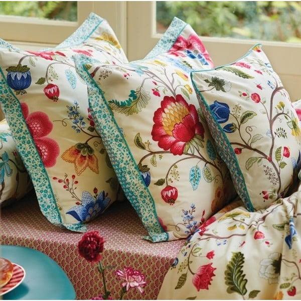 Beżowa pościel Pip Studio Floral Fantasy, 135x200cm