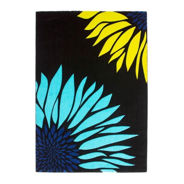 Dywan Lifestyle 174 czarny/niebieski, 120x170 cm