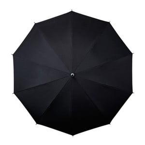 Czarny parasol Falconetti Bandouliere