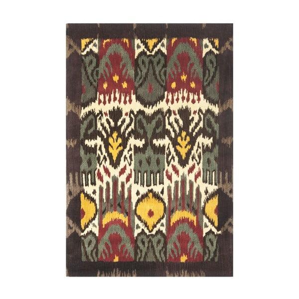 Dywan wełniany Catarina Ikat, 121x182 cm