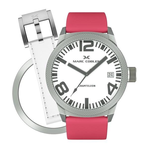 Zegarek damski Marc Coblen z dodatkowym paskiem i obręczą P77