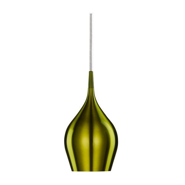 Lampa wisząca Searchlight Vibrant, 12 cm, zielona