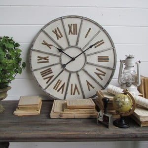 Zegar naścienny Industrial Metallo, 65 cm
