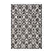 Czarny dywan odpowiedni na zewnątrz Bougari Karo, 140x200cm