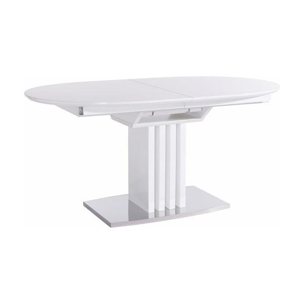Biały stół z wysokim połyskiem Støraa Canasta