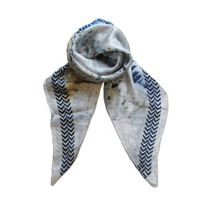 Wełniana chusta z dodatkiem kaszmiru Lanima, 130x130 cm