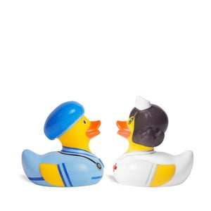 Kaczka do kąpieli Bud Ducks Doctor & Nurse Mini Deluce