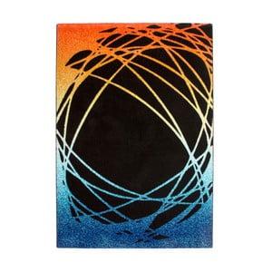 Dywan Lifestyle 111 black/orange, 120x170 cm