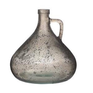 Wazon szklany Goose, 18 cm, szary