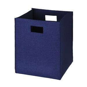 Filcowe pudełko 36x30 cm, ciemnoniebieskie