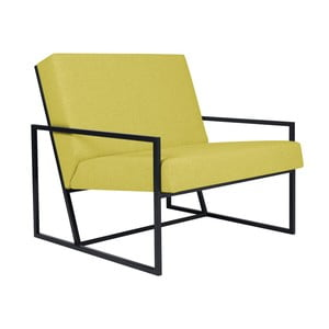Żółty fotel BSL Concept Geometric