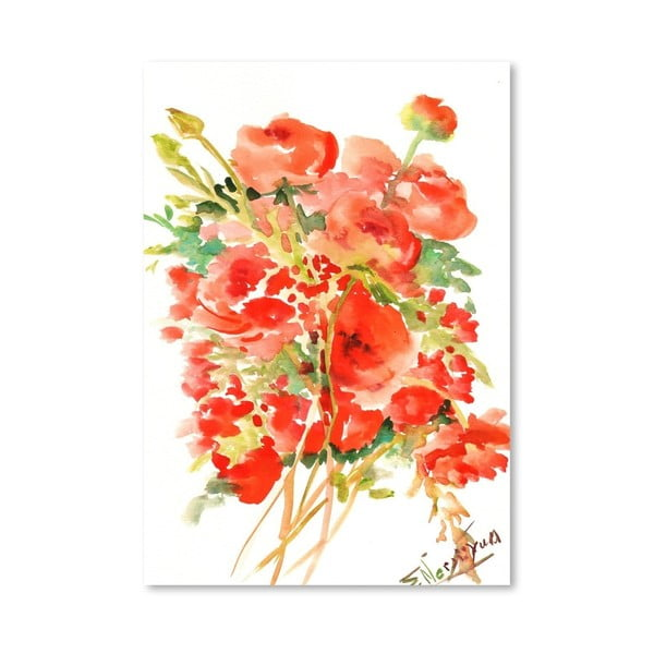 Plakat Ranunculus (projekt Suren Nersisyan)