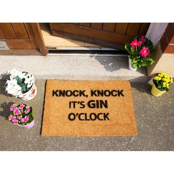 Wycieraczka Artsy Doormats Gin O'Clock, 40x60 cm