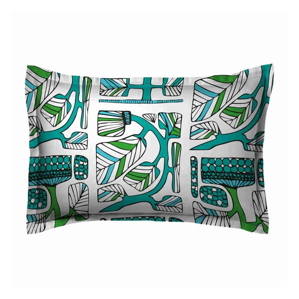 Poszewka na poduszkę Folke Green, 70x80 cm