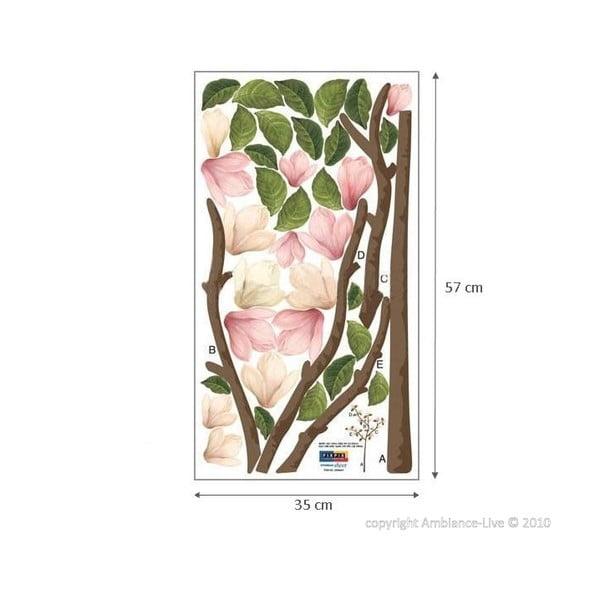 Naklejka Ambiance Pink Magnolia