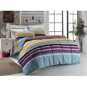 Narzuta pikowana na łóżko dwuosobowe Pipa, 195x215 cm
