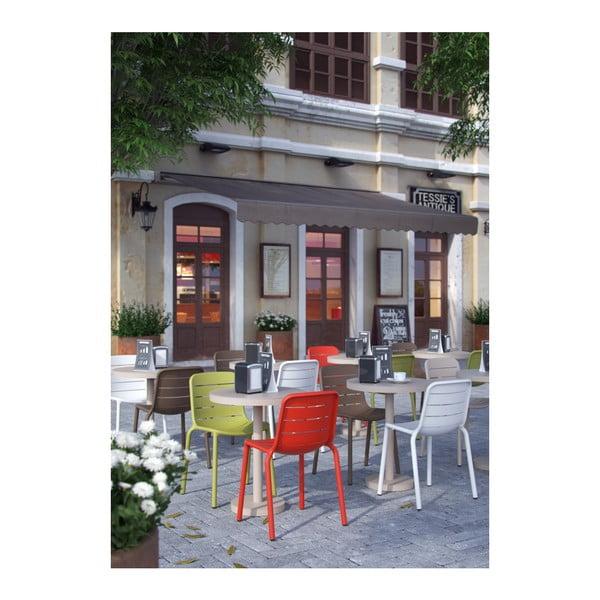 Zestaw 2 beżowych krzeseł ogrodowych Resol Gina