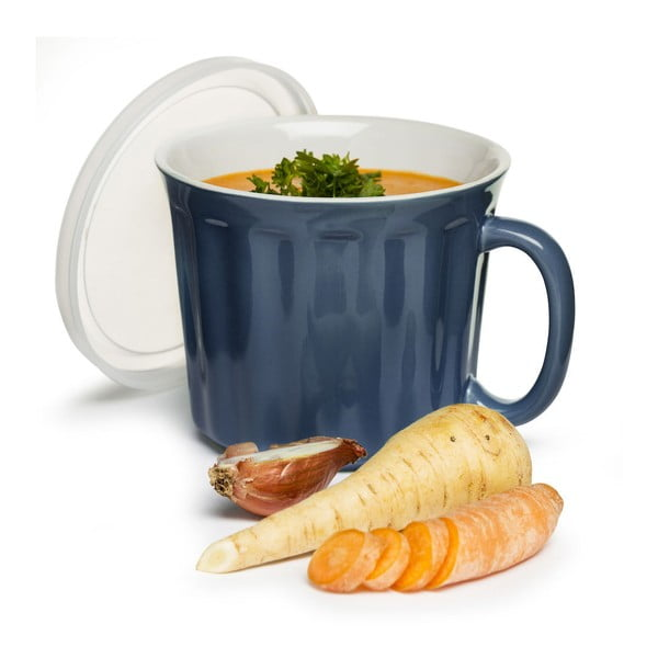 Kubek na zupę Sagaform 500 ml, niebieski
