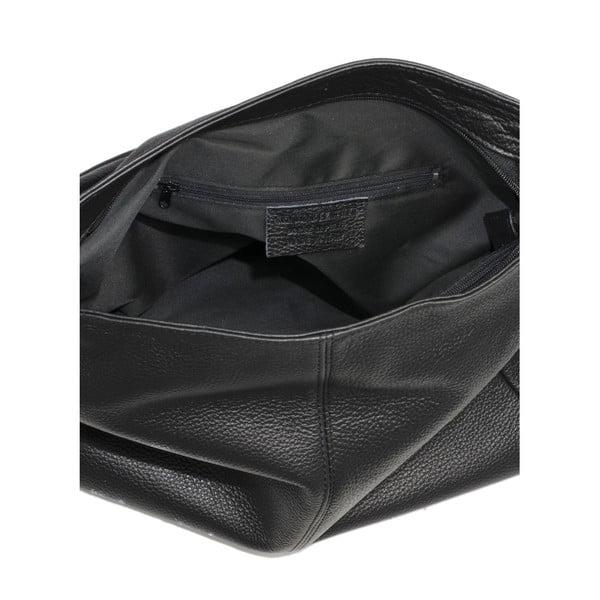 Czarna torebka skórzana Markese Sebastiano