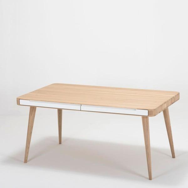 Stół z drewna dębowego Gazzda Ena Two, 140x90x75 cm