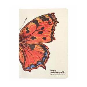 Notes Gift Republic Butterflies, rozm.A5