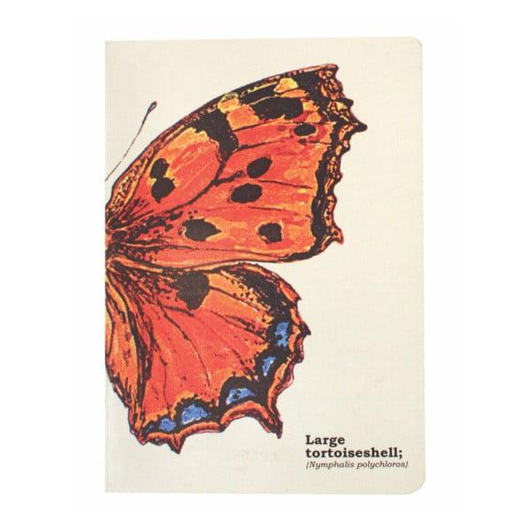 Notes Gift Republic Butterflies, rozm. A5