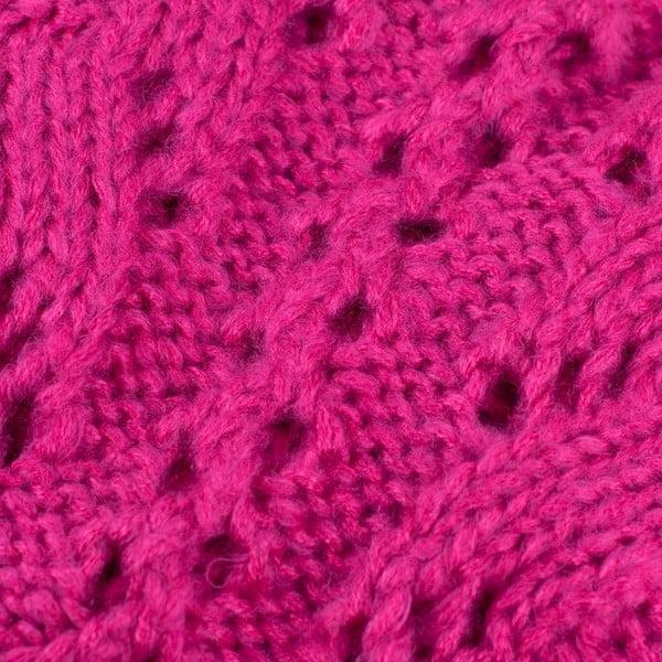 Szalik komin Poppy Pink