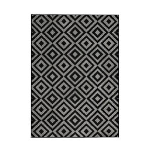 Dywan Matrix Black Grey 120x170 cm