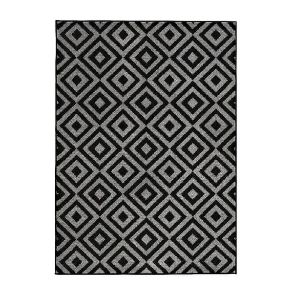 Dywan Matrix Black Grey 120x170 cm