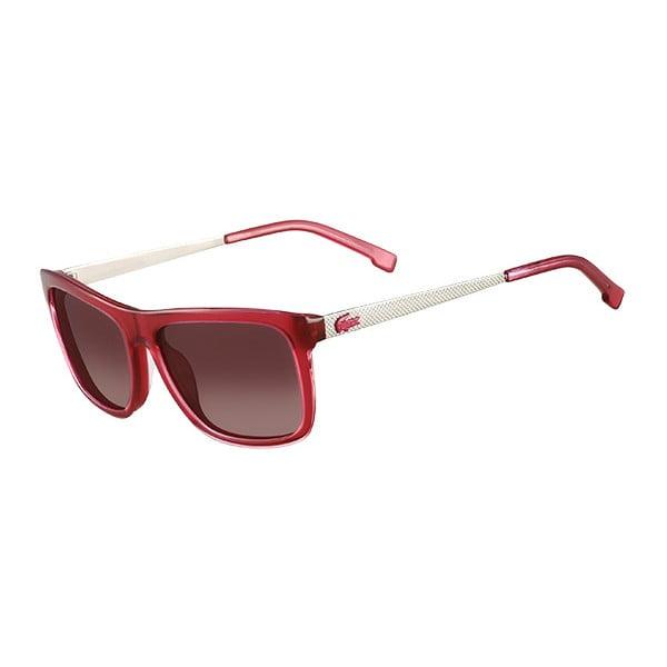 Damskie okulary przeciwsłoneczne Lacoste L695 Red