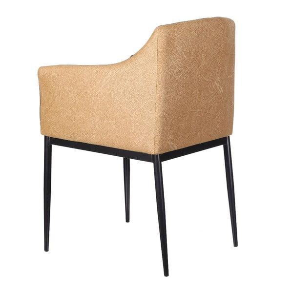 Fotel Block, brązowy
