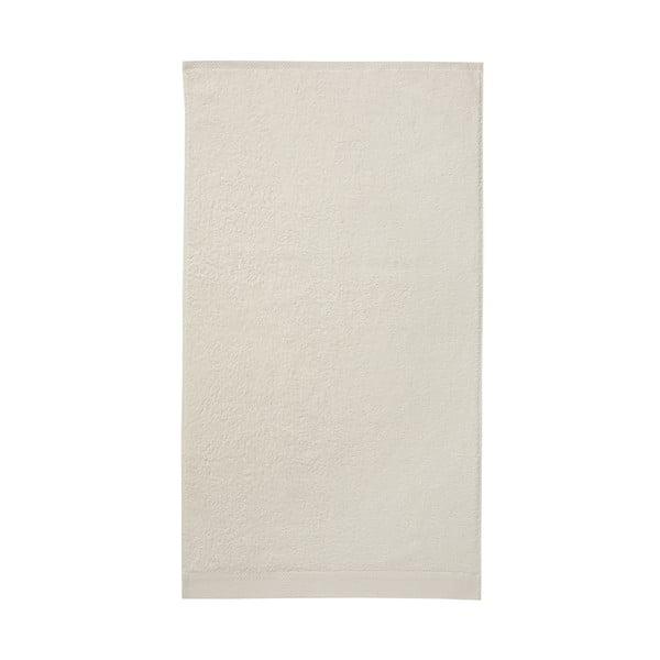 Zestaw 3 kremowych ręczników Seahorse Pure,60x110cm