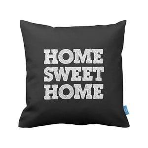 Poduszka Sweet Home Black, 43x43 cm