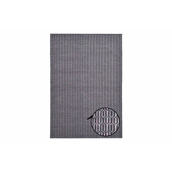 Dywan Flat Honey Comb Grey, 140x200 cm