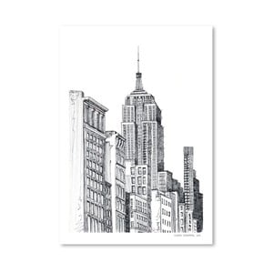 Plakat New York, 30x42 cm