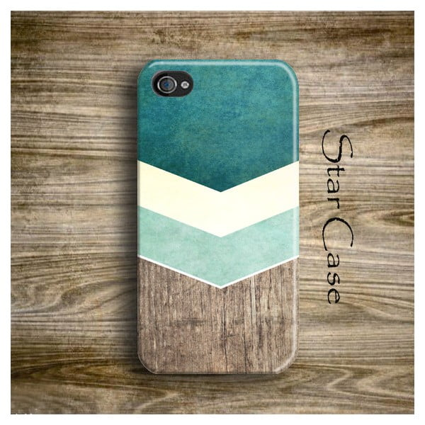 Etui na iPhone 5/5S Wood Arrow Green