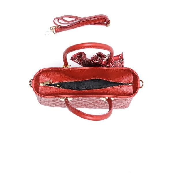 Skórzana torebka Carla Ferreri 2003 Rosso